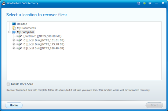 recovery-file-location