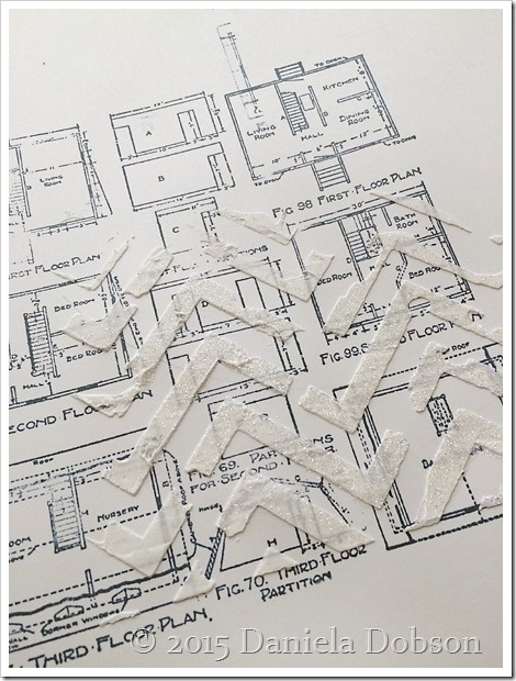 Floor plan stamp by Daniela Dobson