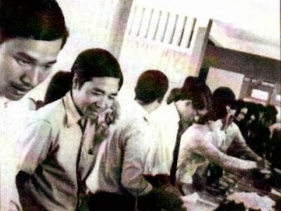 Thầy Nhã tại trại Về Nguồn 1972