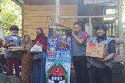 Sasar Lansia Dhuafa, Tim Amal BKKS Berbagai Sembako