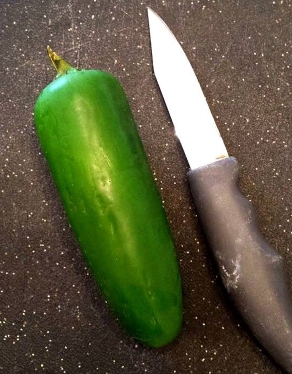 fresh jalepeno