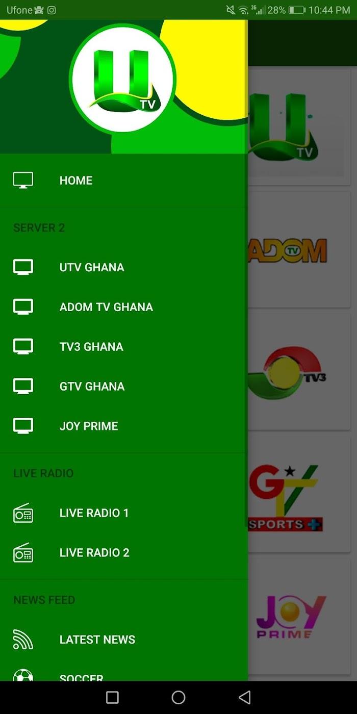 UTV Ghana v1 0 3 For Android APK Download - DLoadAPK