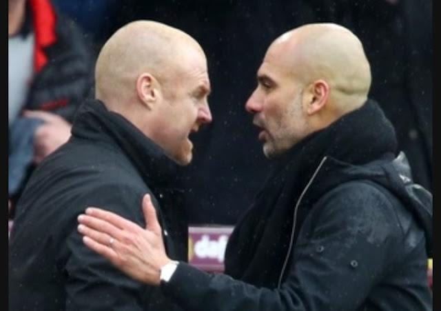 Burnley 1 Manchester City 1, premier League match highlight