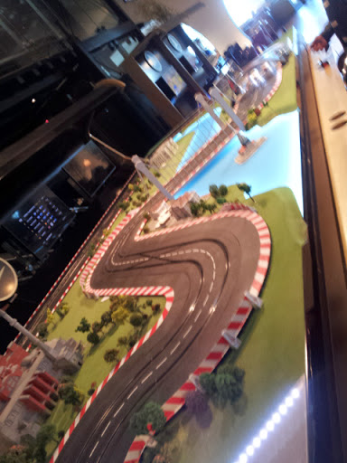 Yes, I lost on this electric race track. From What's It Really Like to Fly Turkish Airlines Business Class?