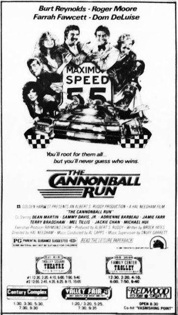 Cannonball Run ad