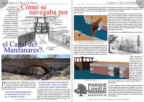 Cuadernillo del Real Canal del Manzanares