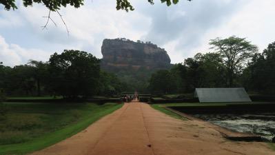 Sigiriya from the ancient city