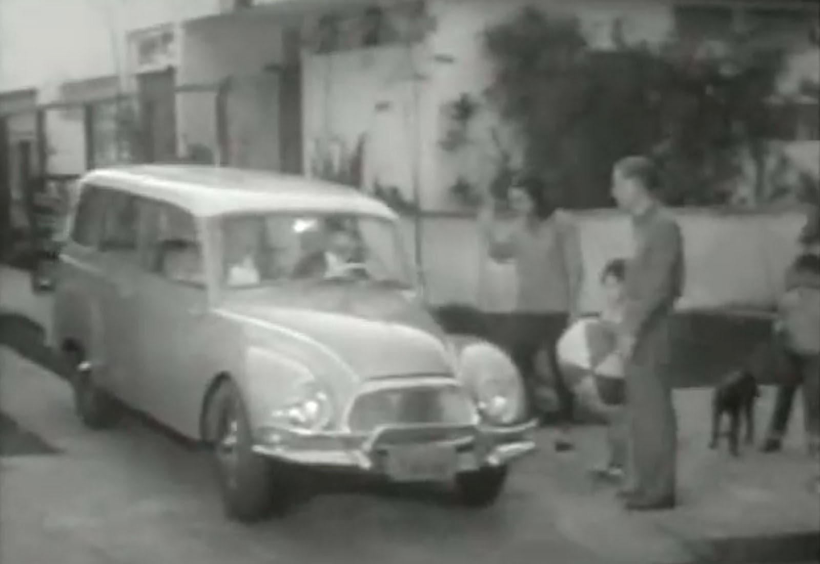 Propaganda da década de 60 promovendo a Vemaguet da DKW-Vemag