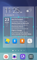 Screenshot of Calendar Widget Android Agenda