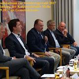 Kolping Podiumsdiskussion zur Bundestagswahl 05.09.2017