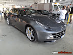 Silver Ferrari FF