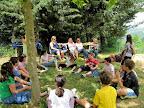 """Scuola Primaria Parrano progetto """"giochiamo con la creta"""":pausa in giardino primavera 2010"""