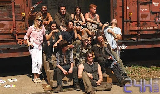 24hphim.net The Walking Dead Season 5 First Day Back Video 560 Xác Sống 5