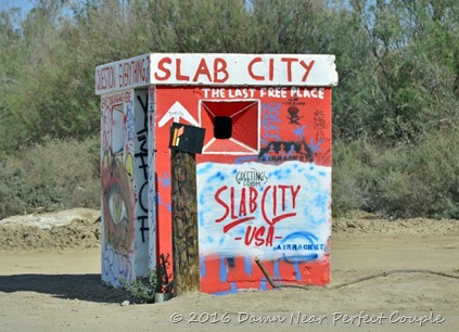 Slab City Sign