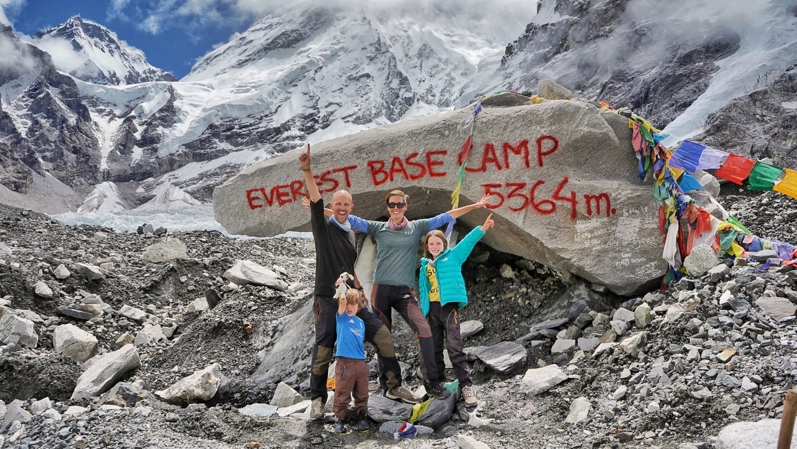 Trilha ao Everest Base Camp