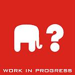 Unde este elefantul? Balanseaza-te. O instalaţie work in progress.