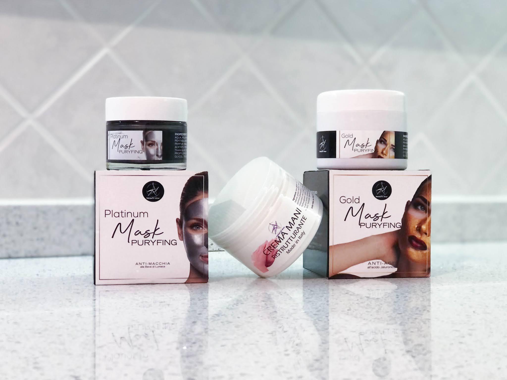3 prodotti per un trattamento viso SPA di lusso a casa con Beauty Star e PowerStarWorld
