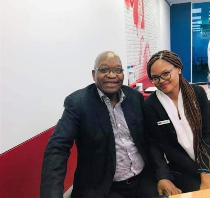 Jacob Zuma surprises Capitec employees with visit