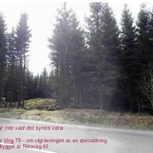 Utgrävningar för RV40