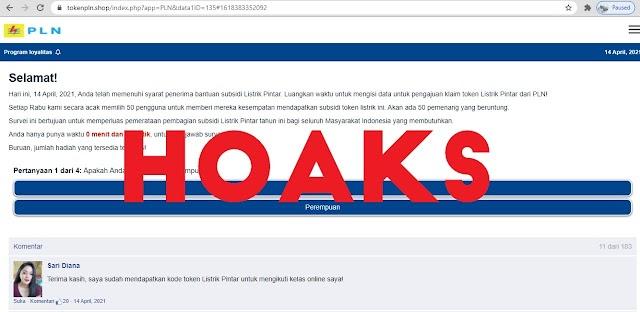 Waspada Penipuan Pendaftaran Subsidi Listrik Melalui Website