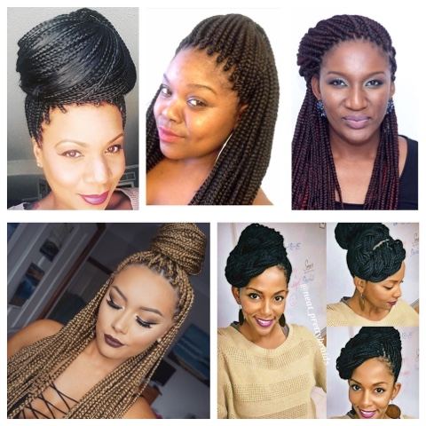 Welcome To Jules Corner 5 Simple Ways To Style Your Braids