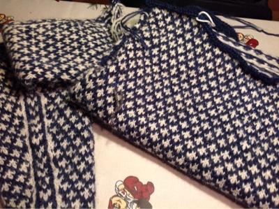 islandsk sweater opskrift dame