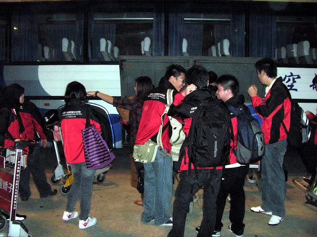 Mahasiswa baru tiba di Nanjing Aeronautics Astronautics  diantar BLCI