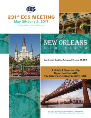 visit us at 231st ECS Meeting