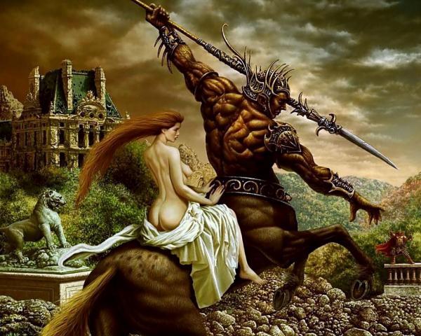 Lady On The Centaur, Spirit Companion 4