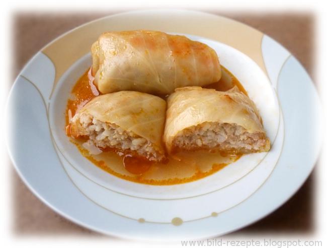 Rezepte aus meiner Küche: Golubzi (Kohlrouladen)