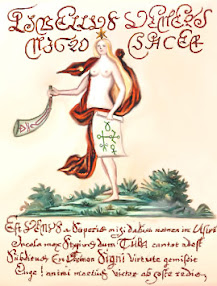 Cover of John Dee's Book Tuba Veneris or The Trumpet of Venus English Version