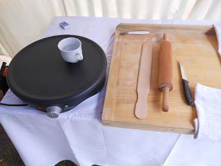 príprava na výrobu lapašákov