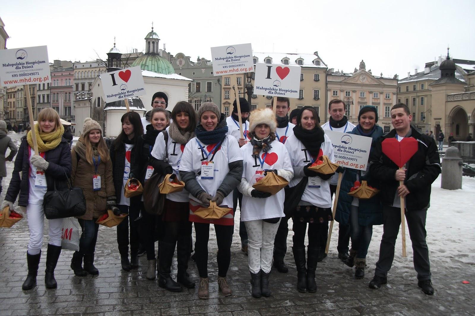 Serce od Hospicjum ! 14.02.2013 w Krakowie