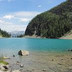 Ziel einer Wanderung (9 km): der Lake Agnes