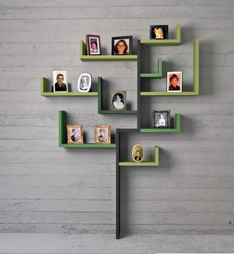 libreria linea Lago mobili a forma di albero.png