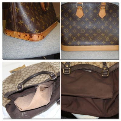 Louis Vuitton bag, gucci bag