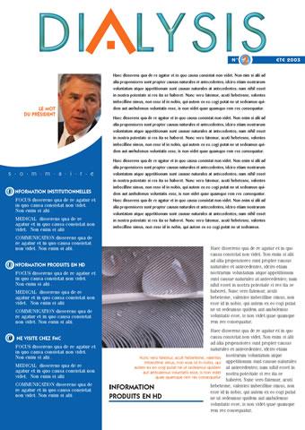 magazine DIALYSIS 1 -SansException