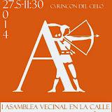 2014 27S I Asamblea Vecinal en la calle + Premios Arqueros del año + Piscolabis