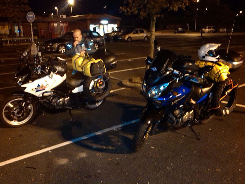 Rest stop at services