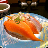 nama-salmon at Katsu Seibu Shibuya-ten in Tokyo, Tokyo, Japan