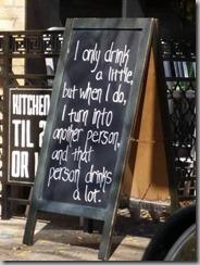 drink a little 2