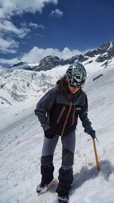 Ecole de neige, glacier Blanc