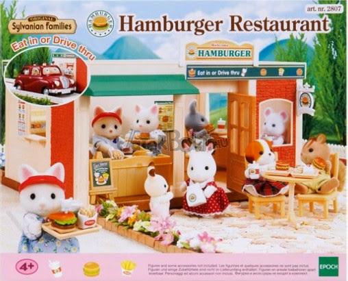 Bao bì sản phẩm Nhà hàng Hamburger SF 2807