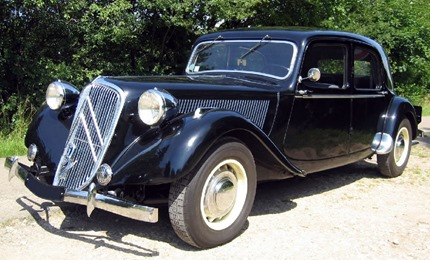Citroën Traction 15-Six 1949