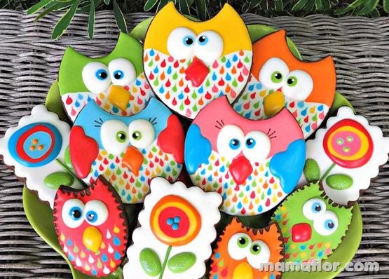 Decoración de muffins de Búho o Lechuza