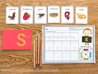 FREE Beginning Letter Sound Posters and Cards (SAMPLER)
