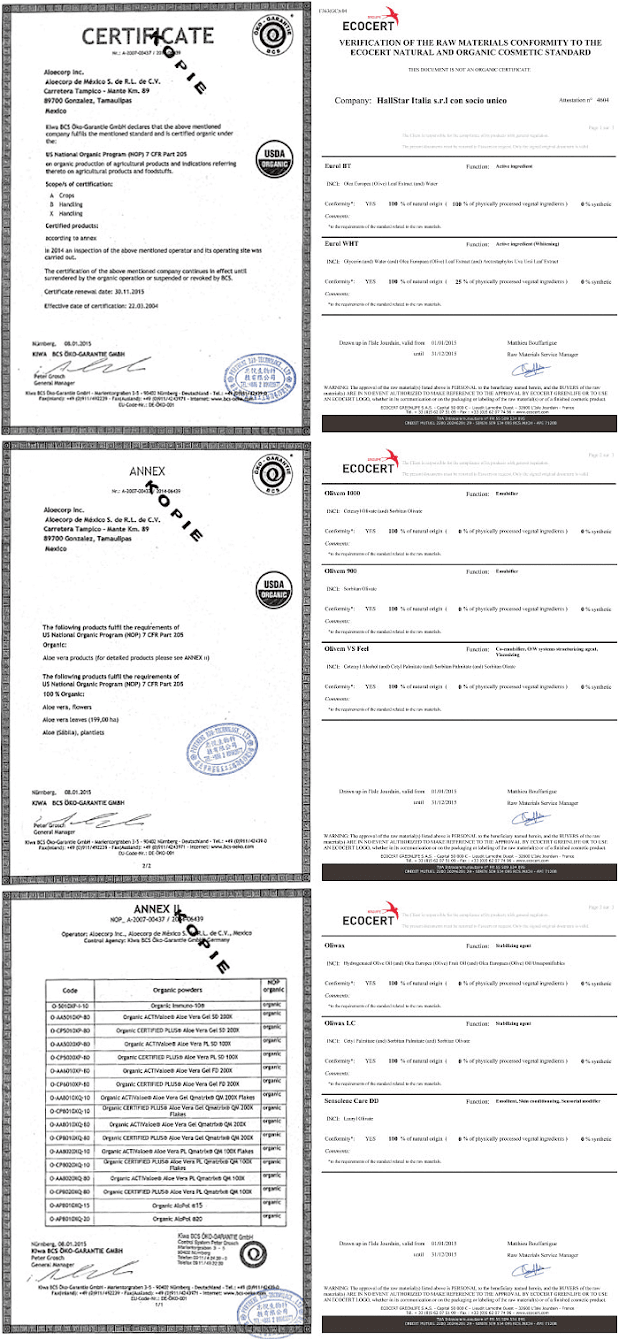 美國QAI有機認證標章