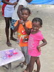 Youth Without Borders -- through the support of donations donations-- pays the living expenses for a nice, foster family home for Loveberline, her sister Beatrice, and Ruth.