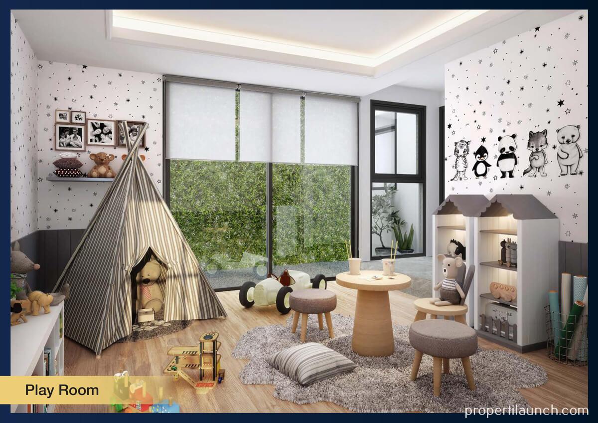 Show Unit Rumah Aether BSD - Playroom