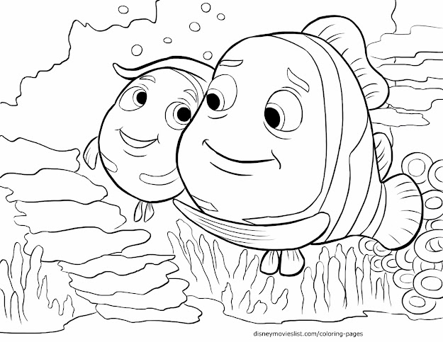 Top 10 Finding Nemo Squirt Coloring Pages Library